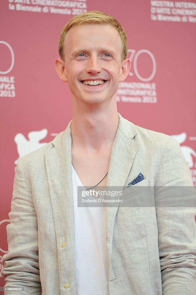 Actor David Zimmerschied attends 'Die Frau des Polizisten' Photocall during The 70th Venice International Film Festival at Palazzo del Casino on August 30, 2013 in Venice, Italy.