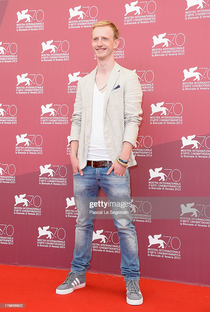 Actor David Zimmerschied attends 'The Police Officer's Wife' Photocall during The 70th Venice International Film Festival at Palazzo Del Casino on August 30, 2013 in Venice, Italy.