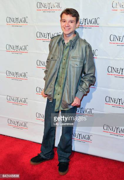 Actor Davis Desmond attends Cinemagic Los Angeles showcase preview of 'Chancer' at Fairmont Miramar Hotel on February 16 2017 in Santa Monica...