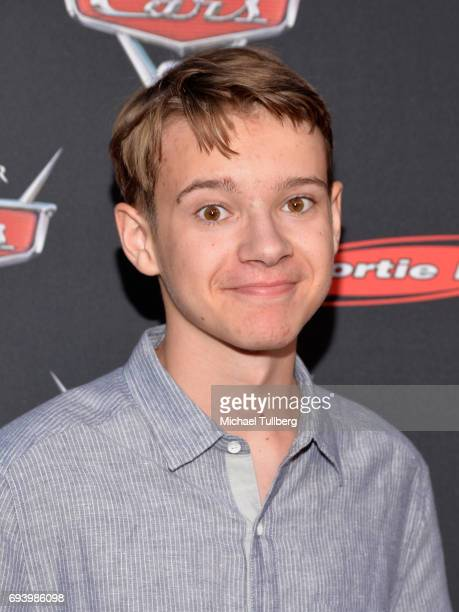 Actor Davis Desmond attends Disney's Cars x Sportie LA Event at Sportie LA on June 8 2017 in Los Angeles California