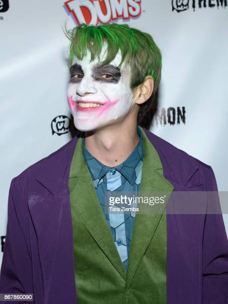 Actor Davis Desmond attends Mateo Simon's Halloween Charity Event on October 28 2017 in Burbank California