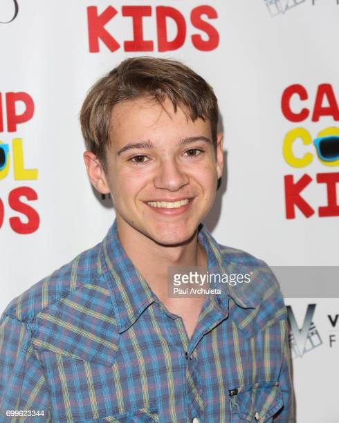 Actor Davis Desmond attends the premiere of 'Camp Cool Kids' at The AMC Universal City Walk on June 21 2017 in Universal City California