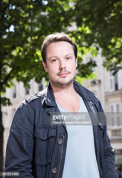 Actor Davy Sardou is photographed for Paris Match on June 24 2015 in Paris France