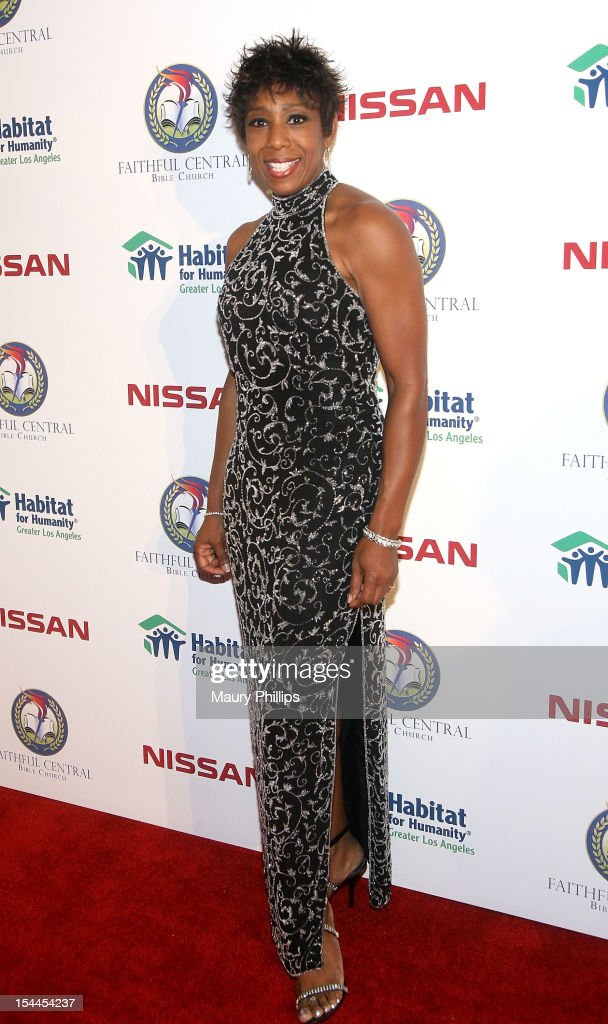 Actor Dawn Lewis attends the Faithful Central Bible Church Event on October 19, 2012 in Century City, California.