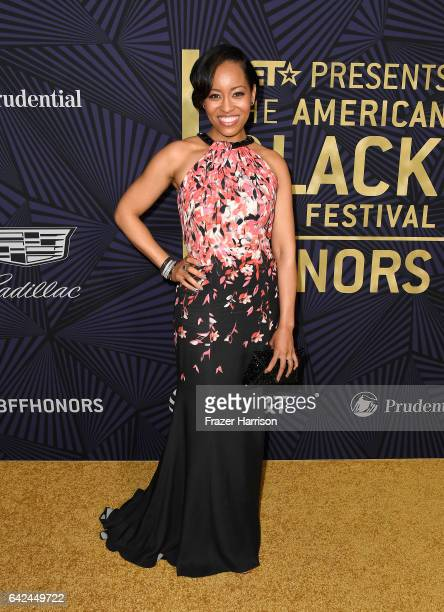 Actor DawnLyen Gardner attends BET Presents the American Black Film Festival Honors on February 17 2017 in Beverly Hills California