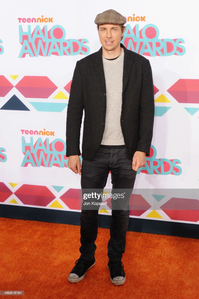 Actor <a gi-track='captionPersonalityLinkClicked' href=/galleries/search?phrase=Dax+Shepard&family=editorial&specificpeople=810830 ng-click='$event.stopPropagation()'>Dax Shepard</a> arrives at the 2013 TeenNick HALO Awards at Hollywood Palladium on November 17, 2013 in Hollywood, California.