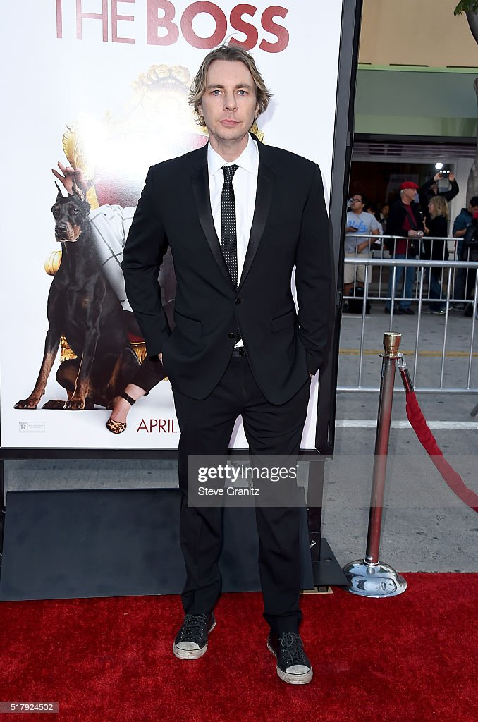 Actor Dax Shepard attends the premiere of USA Pictures' 'The Boss' at Regency Village Theatre on March 28 2016 in Westwood California