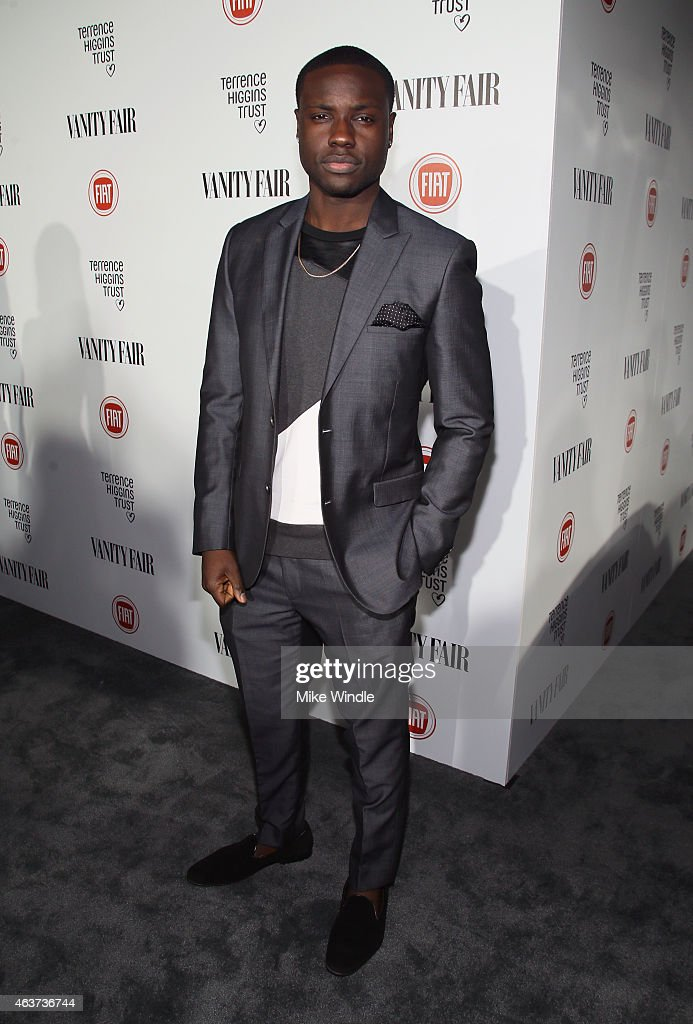 Actor Dayo Okeniyi attends Vanity Fair and FIAT celebration of Young Hollywood, hosted by Krista Smith and James Corden, to benefit the Terrence Higgins Trust at No Vacancy on February 17, 2015 in Los Angeles, California.
