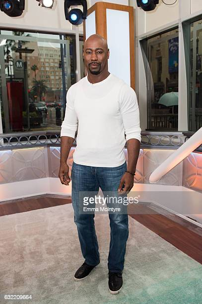 Actor DB Woodside attends 'Lisa Edelstein and DB Woodside visit Hollywood Today Live' at W Hollywood on January 20 2017 in Hollywood California