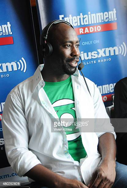 Actor DB Woodside attends SiriusXM's Entertainment Weekly Radio Channel Broadcasts From ComicCon 2015 at Hard Rock Hotel San Diego on July 10 2015 in...