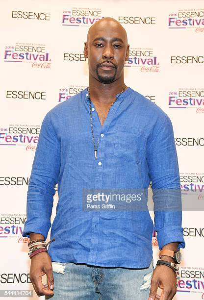Actor DB Woodside backstage at the 2016 ESSENCE Festival Presented By CocaCola at Ernest N Morial Convention Center on July 3 2016 in New Orleans...