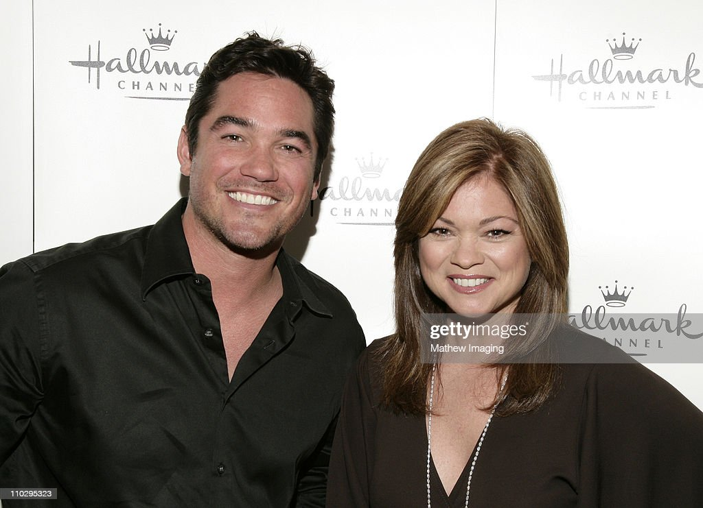 Actor dean cain and actress valerie bertinelli at the hallmark channel
