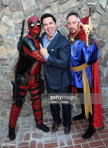Actor Dean Cain attends the 42nd annual Saturn Awards at The Castaway on June 22 2016 in Burbank California