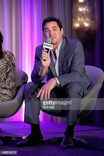 Actor Dean Cain speaks onstage during the 'The FaithBased Personalities – Staying True to Themselves and Fans' panel at Variety's Purpose The Family...