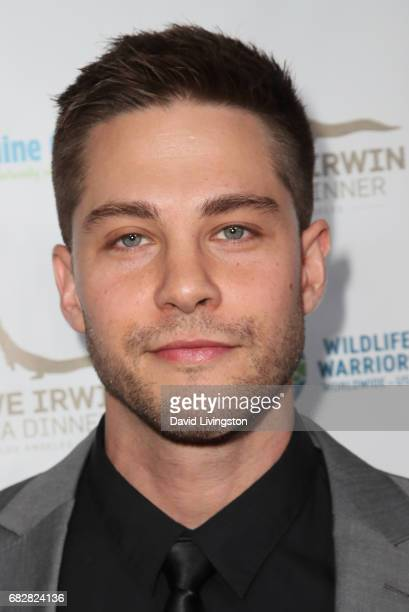 Actor Dean Geyer attends the Steve Irwin Gala Dinner at the SLS Hotel at Beverly Hills on May 13 2017 in Los Angeles California