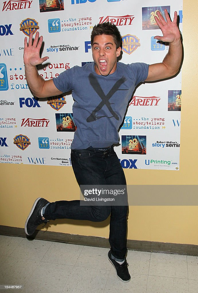 Actor Dean Geyer attends the Young Storytellers Foundation's Annual Gala at Willows Community School on October 20 2012 in Culver City California