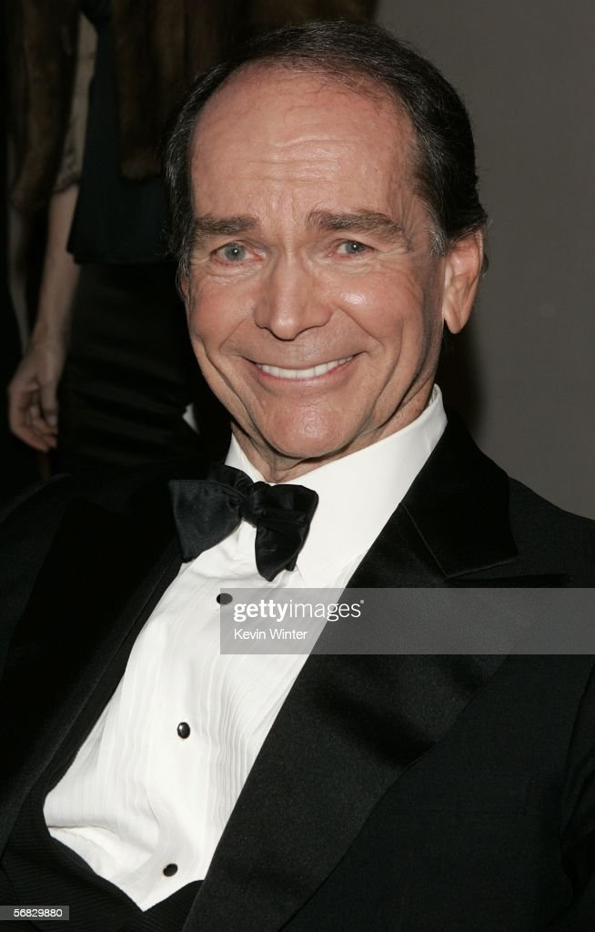 Actor Dean Jones mingles during the cocktail reception at the10th Annual Art Directors Guild Awards at the Beverly Hilton Hotel on February 11 2006...