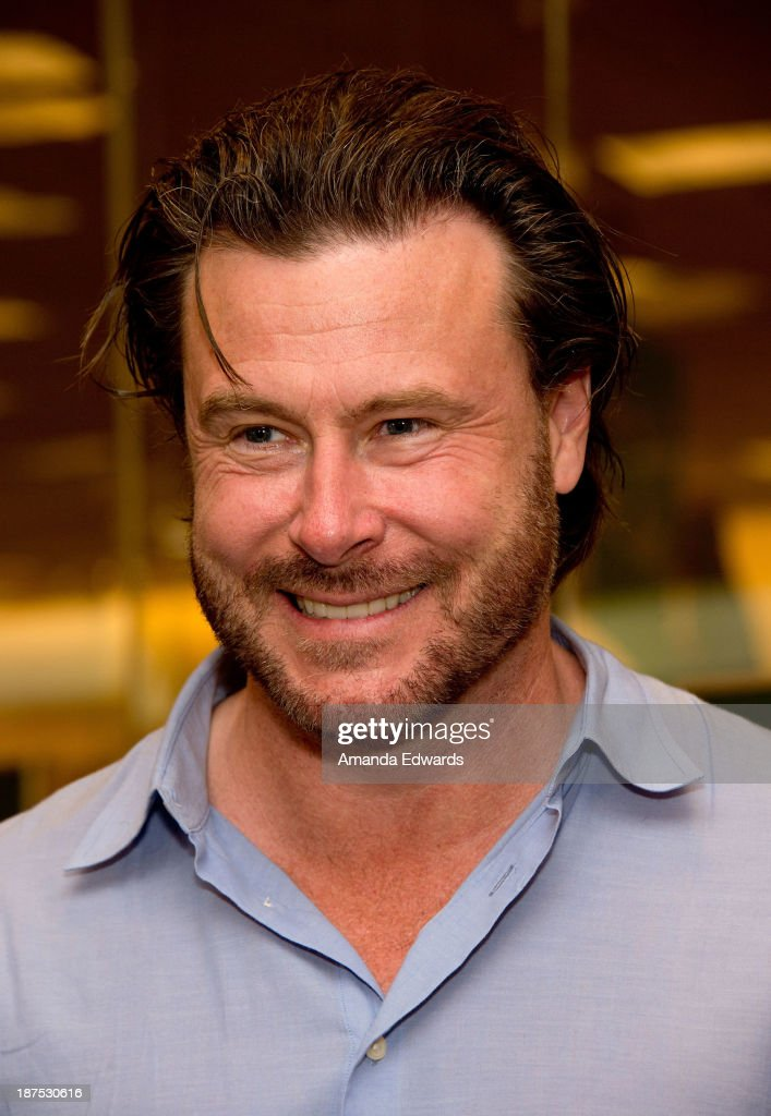 Actor <a gi-track='captionPersonalityLinkClicked' href=/galleries/search?phrase=Dean+McDermott&family=editorial&specificpeople=4486413 ng-click='$event.stopPropagation()'>Dean McDermott</a> attends his wife Tori Spelling's book signing of her new book 'Spelling It Like It Is' at Barnes & Noble bookstore at The Grove on November 9, 2013 in Los Angeles, California.