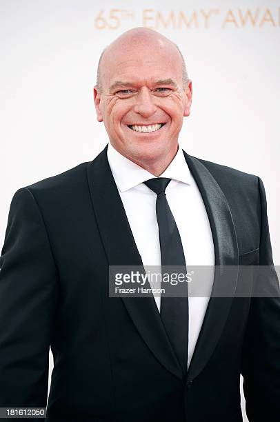 Actor Dean Norris arrives at the 65th Annual Primetime Emmy Awards held at Nokia Theatre LA Live on September 22 2013 in Los Angeles California