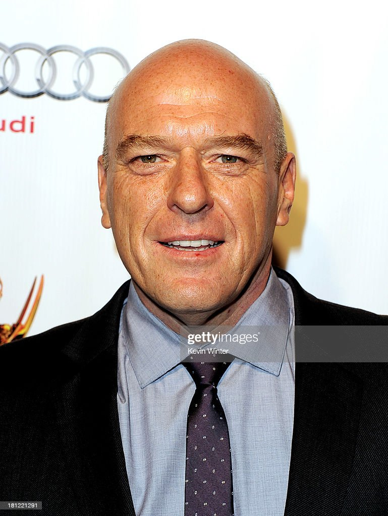 : Actor <a gi-track='captionPersonalityLinkClicked' href=/galleries/search?phrase=Dean+Norris&family=editorial&specificpeople=4195761 ng-click='$event.stopPropagation()'>Dean Norris</a> arrives at the 65th Primetime Emmy Awards Writer Nominees reception at the Academy of Television Arts & Sciences on September 19, 2013 in No. Hollywood, California.