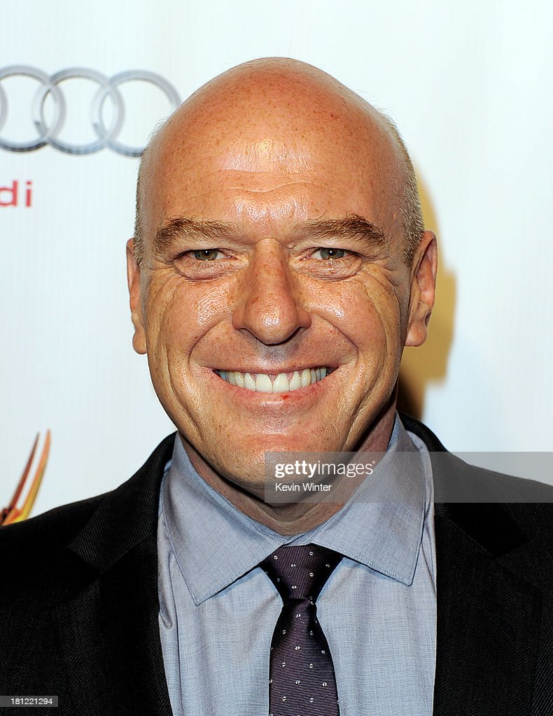 Actor <a gi-track='captionPersonalityLinkClicked' href=/galleries/search?phrase=Dean+Norris&family=editorial&specificpeople=4195761 ng-click='$event.stopPropagation()'>Dean Norris</a> arrives at the 65th Primetime Emmy Awards Writer Nominees reception at the Academy of Television Arts & Sciences on September 19, 2013 in No. Hollywood, California.