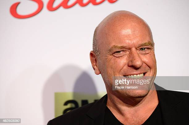 Actor Dean Norris arrives at the Series Premiere Of AMC's 'Better Call Saul' at Regal Cinemas LA Live on January 29 2015 in Los Angeles California