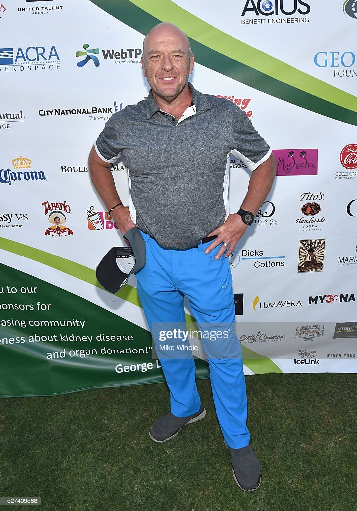 Actor <a gi-track='captionPersonalityLinkClicked' href=/galleries/search?phrase=Dean+Norris&family=editorial&specificpeople=4195761 ng-click='$event.stopPropagation()'>Dean Norris</a> attended the 9th Annual George Lopez Celebrity Golf Classic to benefit The George Lopez Foundation on Monday, May 2nd at the Lakeside Golf Club in Burbank, CA.