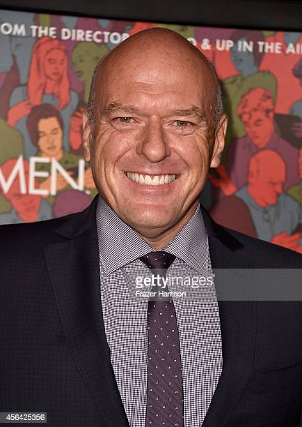 Actor Dean Norris attends Paramount Pictures' 'Men Women Children' premiere at Directors Guild Of America on September 30 2014 in Los Angeles...