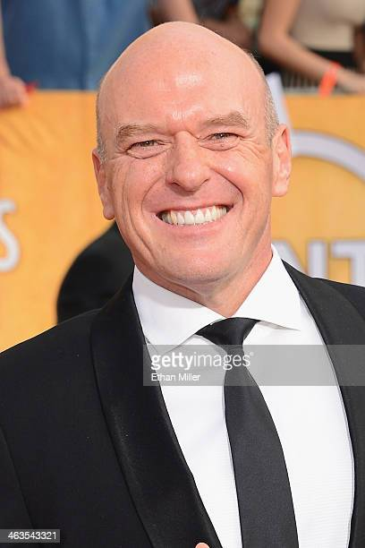 Actor Dean Norris attends the 20th Annual Screen Actors Guild Awards at The Shrine Auditorium on January 18 2014 in Los Angeles California