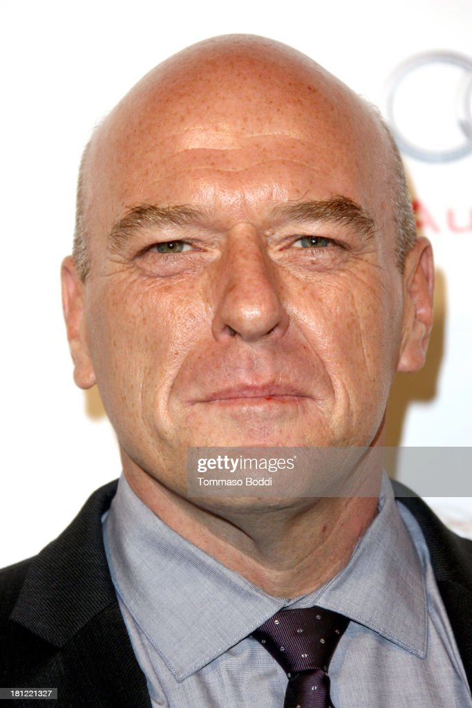 Actor <a gi-track='captionPersonalityLinkClicked' href=/galleries/search?phrase=Dean+Norris&family=editorial&specificpeople=4195761 ng-click='$event.stopPropagation()'>Dean Norris</a> attends the 65th Emmy Awards Writers Nominee reception held at the Leonard H. Goldenson Theatre on September 19, 2013 in North Hollywood, California.