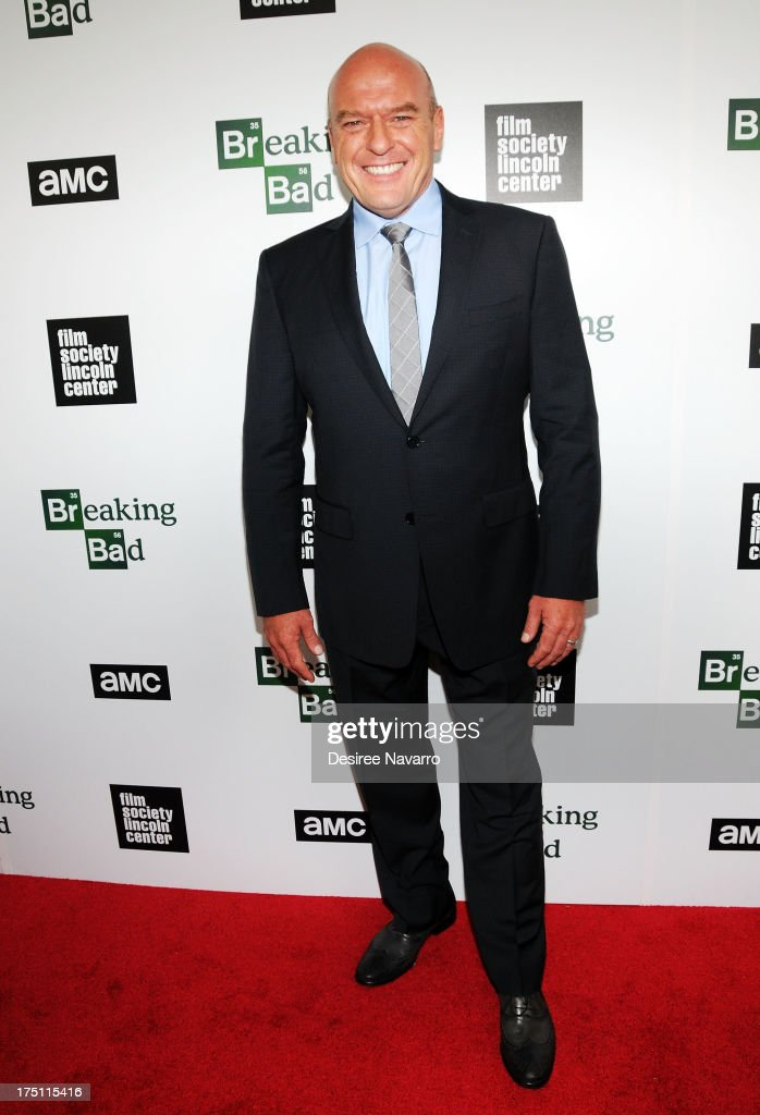 Actor <a gi-track='captionPersonalityLinkClicked' href=/galleries/search?phrase=Dean+Norris&family=editorial&specificpeople=4195761 ng-click='$event.stopPropagation()'>Dean Norris</a> attends The Film Society Of Lincoln Center And AMC Celebration Of 'Breaking Bad' Final Episodes at The Film Society of Lincoln Center, Walter Reade Theatre on July 31, 2013 in New York City.