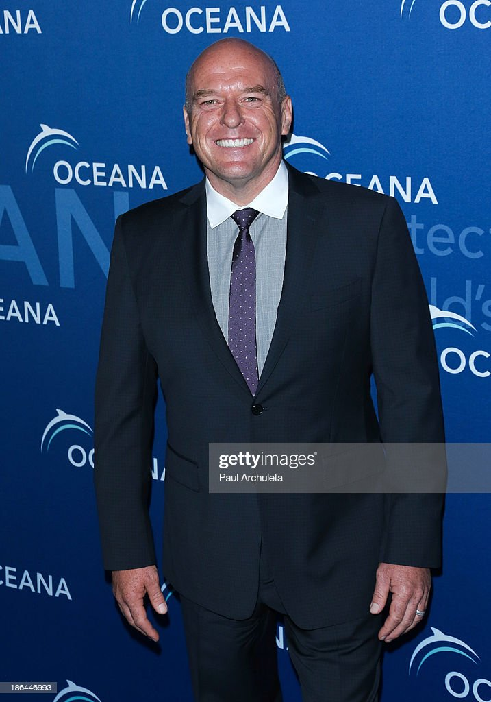 Actor <a gi-track='captionPersonalityLinkClicked' href=/galleries/search?phrase=Dean+Norris&family=editorial&specificpeople=4195761 ng-click='$event.stopPropagation()'>Dean Norris</a> attends the Oceana Partners Award Gala at the Regent Beverly Wilshire Hotel on October 30, 2013 in Beverly Hills, California.