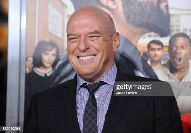 Actor Dean Norris attends the premiere of 'Fist Fight' at Regency Village Theatre on February 13 2017 in Westwood California