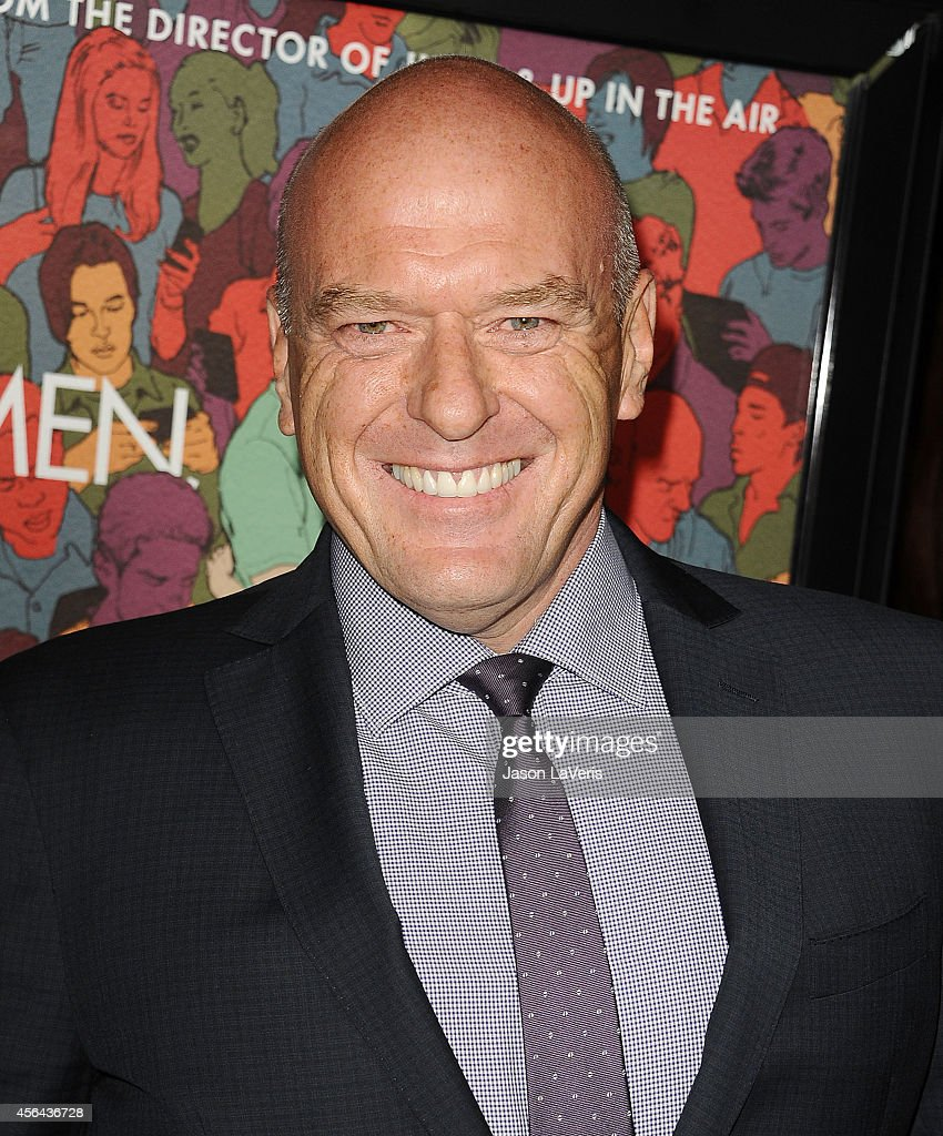 Actor <a gi-track='captionPersonalityLinkClicked' href=/galleries/search?phrase=Dean+Norris&family=editorial&specificpeople=4195761 ng-click='$event.stopPropagation()'>Dean Norris</a> attends the premiere of 'Men, Women and Children' at DGA Theater on September 30, 2014 in Los Angeles, California.