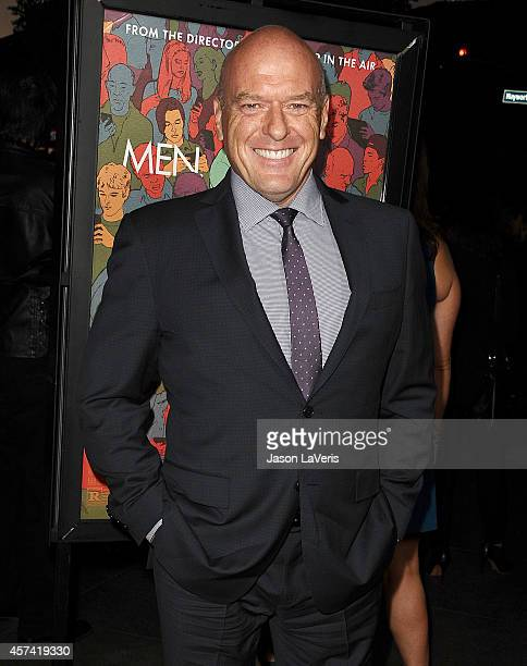 Actor Dean Norris attends the premiere of 'Men Women and Children' at DGA Theater on September 30 2014 in Los Angeles California