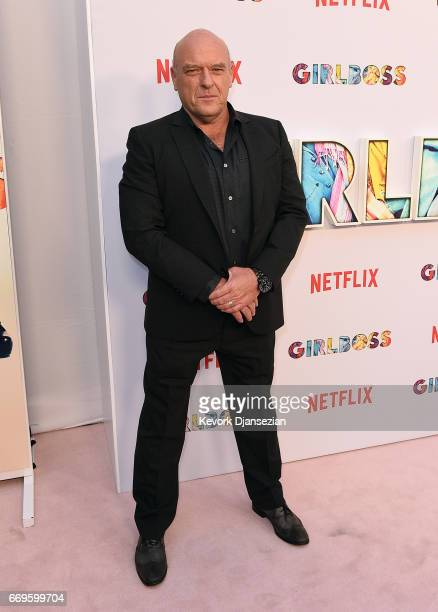Actor Dean Norris attends the premiere of Netflix's 'Girlboss' at ArcLight Cinemas on April 17 2017 in Hollywood California
