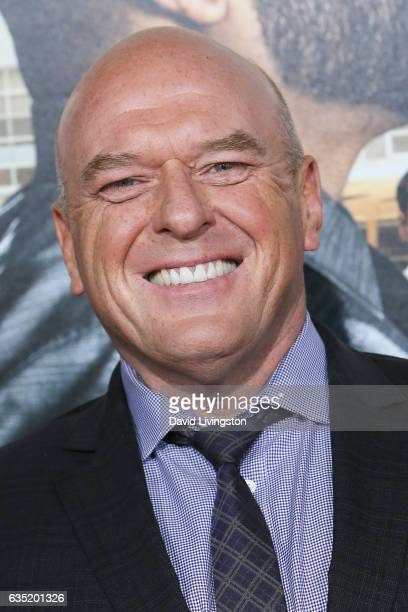 Actor Dean Norris attends the premiere of Warner Bros Pictures' 'Fist Fight' at Regency Village Theatre on February 13 2017 in Westwood California