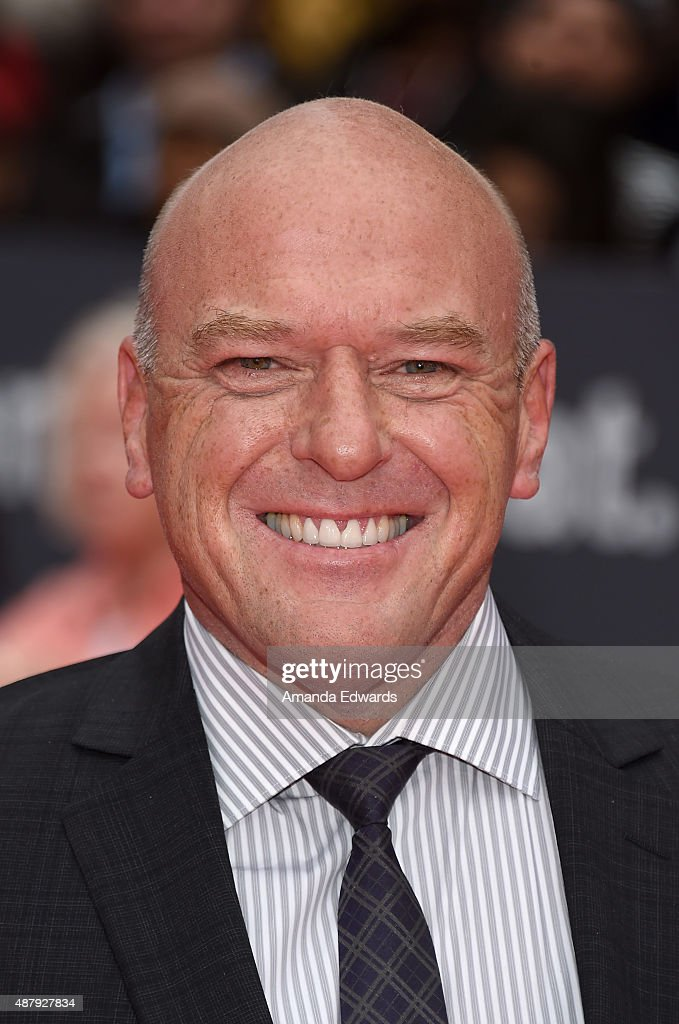 Actor <a gi-track='captionPersonalityLinkClicked' href=/galleries/search?phrase=Dean+Norris&family=editorial&specificpeople=4195761 ng-click='$event.stopPropagation()'>Dean Norris</a> attends the 'Remember' premiere during the 2015 Toronto International Film Festival at Roy Thomson Hall on September 12, 2015 in Toronto, Canada.