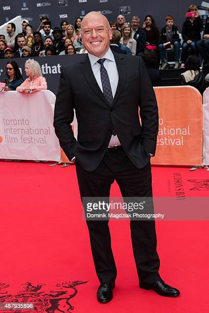 Actor Dean Norris attends the 'Remember' premiere during the Toronto International Film Festival at the Roy Thomson Hall on September 12 2015 in...