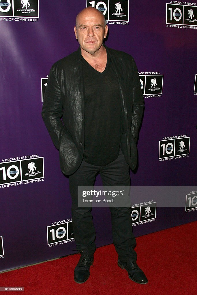 Actor Dean Norris attends the Wounded Warrior Project style and beauty charity event held at Avalon on September 20, 2013 in Hollywood, California.