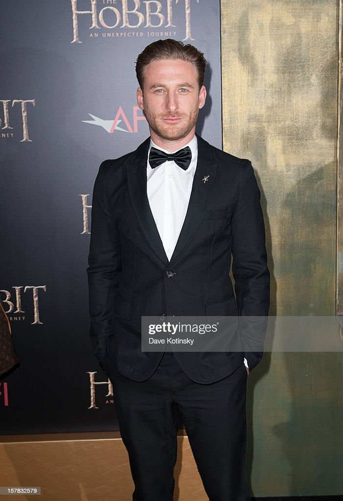 Actor Dean O'Gorman attends 'The Hobbit: An Unexpected Journey' New York premiere benefiting AFI at Ziegfeld Theater on December 6, 2012 in New York City.