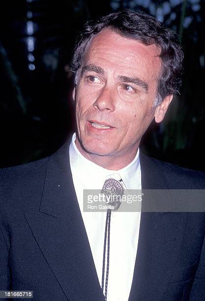 Actor Dean Stockwell attends the 17th Annual American Film Institute Lifetime Achievement Award Salute to Gregory Peck on March 9 1989 at the Beverly...