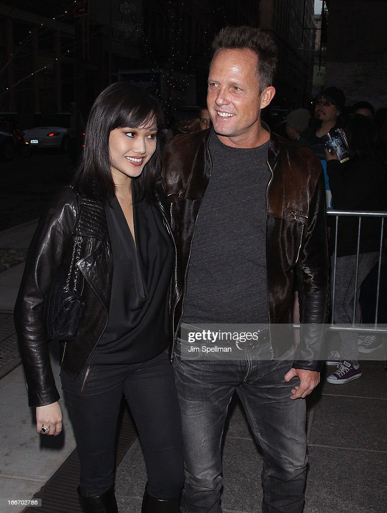 Actor <a gi-track='captionPersonalityLinkClicked' href=/galleries/search?phrase=Dean+Winters&family=editorial&specificpeople=213293 ng-click='$event.stopPropagation()'>Dean Winters</a> (R) and guest attend The Cinema Society and Men's Fitness screening of 'Pain and Gain' at Crosby Street Hotel on April 15, 2013 in New York City.