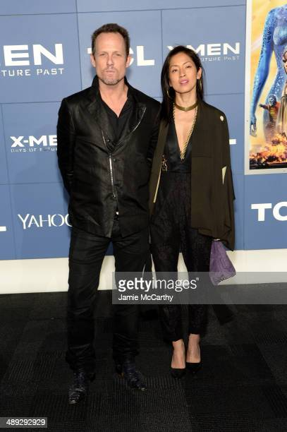 Actor Dean Winters attends the 'XMen Days Of Future Past' world premiere at Jacob Javits Center on May 10 2014 in New York City