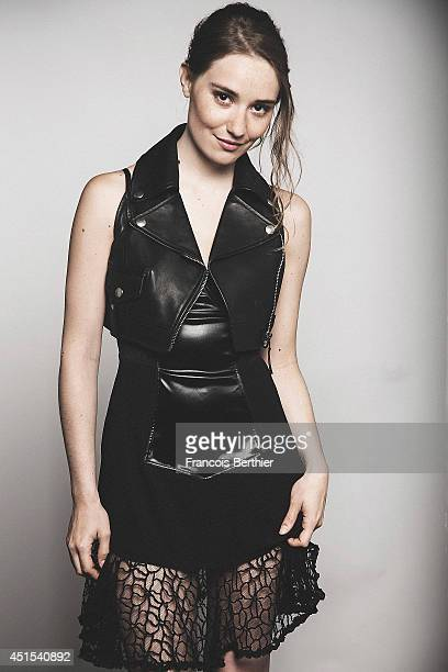 Actor Deborah Francois is photographed in Caen France