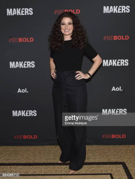 Actor Debra Messing attends the 2017 MAKERS Conference Day 1 at Terranea Resort on February 6 2017 in Rancho Palos Verdes California