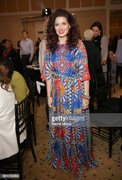 Actor Debra Messing attends The 2017 MAKERS Conference Day 2 at Terranea Resort on February 7 2017 in Rancho Palos Verdes California