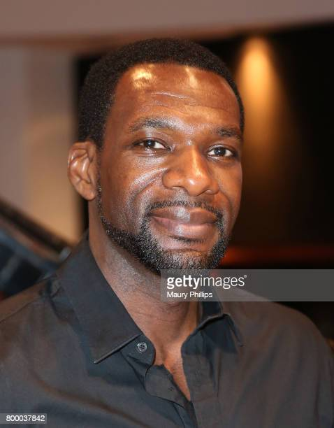 Actor DeMark Thompspn attends the National Museum of African America Music presented by Los Angeles Salon at Henson Recording Studio on June 22 2017...