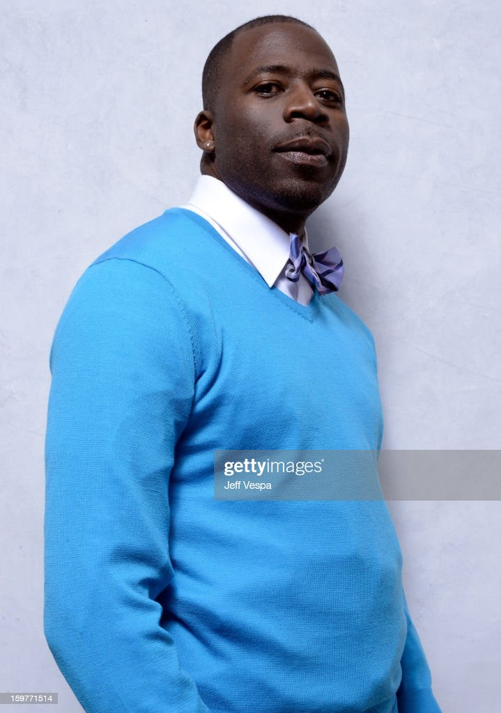 Actor Demetrius Grosse poses for a portrait during the 2013 Sundance Film Festival at the WireImage Portrait Studio at Village At The Lift on January 20, 2013 in Park City, Utah.