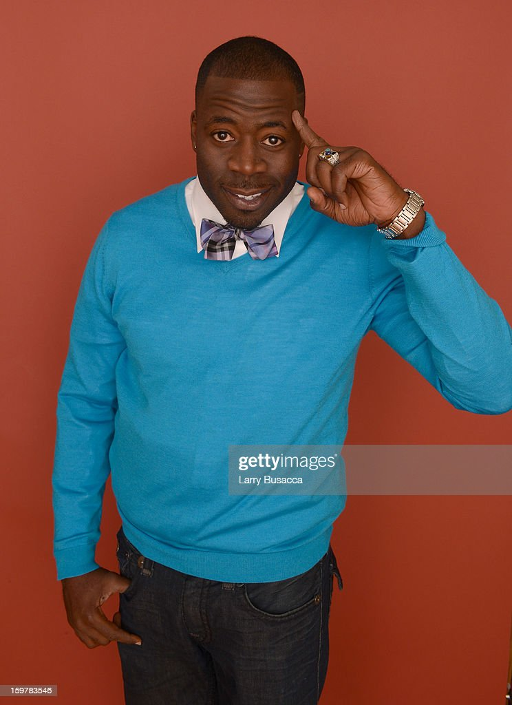 Actor Demetrius Grosse poses for a portrait during the 2013 Sundance Film Festival at the Getty Images Portrait Studio at Village at the Lift on January 20, 2013 in Park City, Utah.